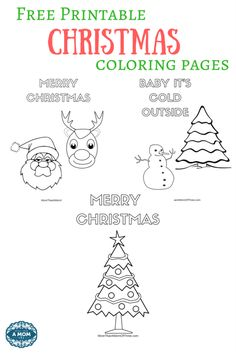 Christmas is right around the corner and I am always looking for fun things to do with my kids especially around the holidays. So today I have my latest Free Printable Christmas Coloring Pages to share with you.