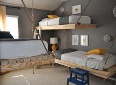 Die tollsten Hochbetten für Jungen und Mädchen! Nummer 3 ist wirklich fantastisch - DIY Bastelideen