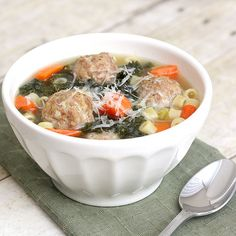 Tracey's Culinary Adventures: Italian Wedding Soup