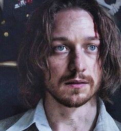 "James McAvoy as Charles Xavier/ Professor X in ""X-Men: Days of Future Past""... How can you say no to that face?"