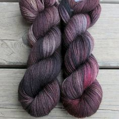 Gal Noir - Northumbria Fingering - Babette | Miss Babs Hand-Dyed Yarns & Fibers, Inc. US