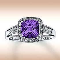 purple :] Born a Leap Year Baby....this is my birthstone....Id love to have this ring!! Just sayin#Repin By:Pinterest++ for iPad#