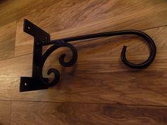 Wrought Iron Hanging Basket Bracket Kit