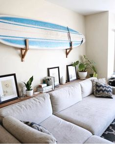 I officially want a surfboard as part of my home decor. I OBVIOUSLY need to move back to Cali you guys! thanks for the inspo and tagging in the #ckstyleaccordingly feed @thehealthymaven!
