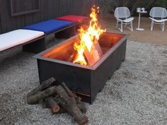 Explore wood burning fire pit ideas and options, plus browse helpful and inspiring pictures from HGTV.
