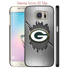 Samsung Galaxy S7 Edge Case, GBP Packers Logo 36 Drop Protection Never Fade Anti Slip Scratchproof Black Hard Plastic Case. Save $2.15 when purchase 2 Qualifying items.Save $3.85 when purchase 3 Qualifying items. Comfortable and smooth surface. Comfort grip. The Protective shell cover is easy to install and remove. Unique design to avoid slipping from hand. shipping time 6-13 days.