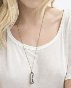 Baby Blues Necklace//