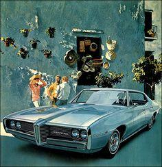 Pontiac 1969, classic beauty.
