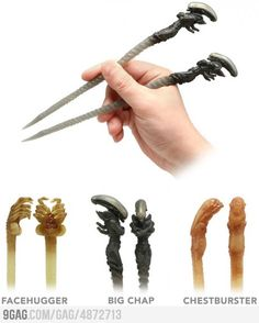 Aliens Chopsticks