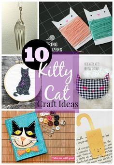 Hello and welcome back! Today's collection of featured craft ideas are a little odd for me: 10 Kitty Cat Craft Ideas. Although I am unsure if anyone from my family actually reads my blog (hello, any family here) if my family is here they are certainly rolling their eyes or shaking their heads right now. …