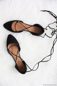 78f9892f5 7 Best Black Lace Up Flats images in 2016 | Black lace up flats ...