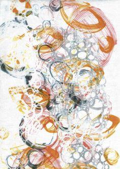 mono print and screen print Mono Print, Print Artist, Gelatin, Watercolours, I Fall In Love, Pattern Art, Acrylics, Printmaking, Teaching Ideas