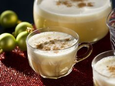 """Rumpope, pronounced """"rom-poe-pay,"""" uses eggs, condensed milk, peaches, vanilla extract and cinnamon to create a sweet, silky beverage. You Might Also Like...      Rosario's Rumpope (Ecuadorian Holiday Eggnog)  Advertisement   You're Sitting Fireside With the Family  - Holiday Cocktail Recipes to the Rescue on HGTV"""