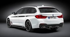 BMW Straps M Performance Parts To All-New 5-Series Touring #BMW #BMW_5_Series