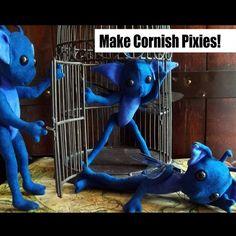 How to Make Cornish Pixies PDF Tutorial Pattern and von mieljolie
