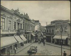 1902  Largo do Rosario Sao Paulo por Gaensly, Guilherme