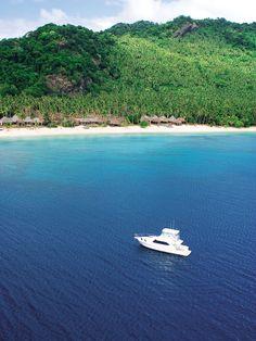 Life is a beach!  Laucala Island Resort in Fiji