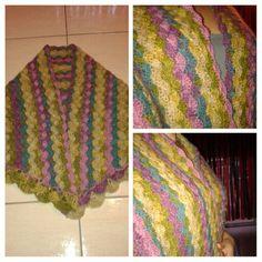 My triangle shawl