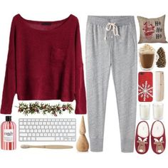 Cute pjs discovered by cxsophiaxc on We Heart It Cute Lazy Outfits, Fall Outfits, Casual Outfits, Fashion Mode, Teen Fashion, Fashion Outfits, Lounge Outfit, Lounge Wear, Lounge Clothes
