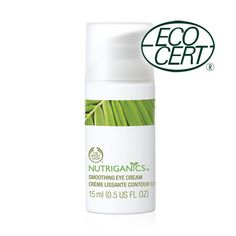 Nutriganics™ Smoothing Eye Cream | The Body Shop®
