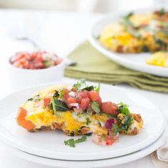 Chorizo, Kale and Sweet Potato Frittata is a one pot meal using only five simple ingredients!