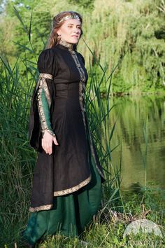 DISCOUNT Medieval Renaissance Fantasy Overcoat Forest