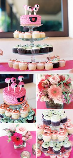 Adorable Monster Themed Party in Pink