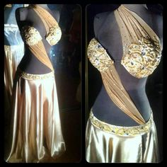 The champagne bra concept great, but definetely other skirt Dance Outfits, Dance Dresses, Tribal Fashion, Womens Fashion, Shimmy Shimmy, Pretty Bras, Tribal Belly Dance, Belly Dance Costumes, Belly Dancers