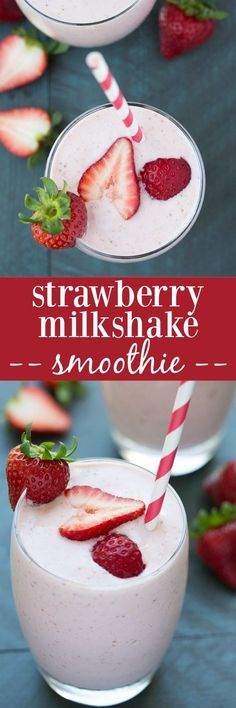 This Strawberry Milk  This Strawberry Milkshake Smoothie tastes just like a strawberry milkshake, but it's healthy! Protein-packed Greek yogurt makes it super creamy!  https://www.pinterest.com/pin/11188699053307986/   Also check out: http://kombuchaguru.com