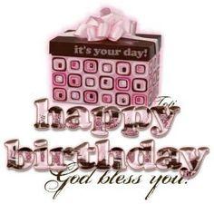 Happy Birthday Happy Birthday Picture Quotes, Best Happy Birthday Message, Happy Birthday For Her, Cool Birthday Cards, Birthday Pins, Happy Birthday Greetings, Happy Birthday Cakes, Birthday Images, Cake Birthday