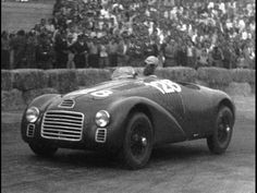 1947-Ferrari 125S-Piacenza-Race Debut in May,while the War had left behind Devastation and shortage of  Human needs,they came out to see there beloved Products Made In Italy.