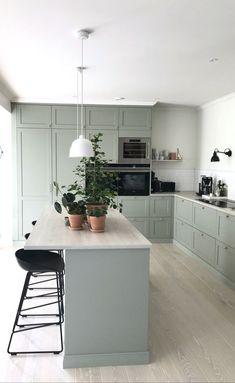 Boho Kitchen, Home Decor Kitchen, New Kitchen, Home Kitchens, English Country Kitchens, Modern Country Kitchens, Interior Desing, Interior Design Kitchen, Home Room Design