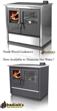 North Wood Cookstove with Domestic Hot Water Source by maxdipaola Wood Stove Cooking, Kitchen Stove, Heating Furnace, Fire Pit Grill, Cooking With Coconut Oil, Fast Dinner Recipes, Cast Iron Cooking, Wood Burner, Simple House
