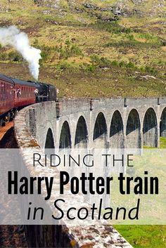 Im Harry Potter Zug durch Schottland Sad that you never received that letter from Hogwarts? Well you can still have the Hogwarts Express experience by riding the Harry Potter train in Scotland. Scotland Vacation, Scotland Travel, Ireland Travel, Scotland Trip, Galway Ireland, Cork Ireland, Ireland Vacation, Visiting Scotland, Inverness Scotland