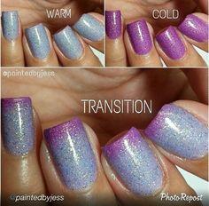 """Polishaddictnailcolor """"purple potion #46"""""""