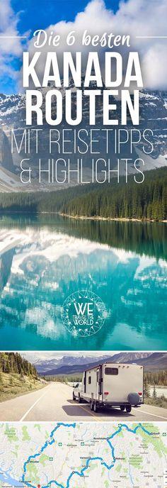 Road Trip Kanada Routen: 6 Blogger verraten dir die besten Kanada Routen, Rundreise Tipps, Sehenswürdigkeiten, Routen und Highlights für Westen und Osten.