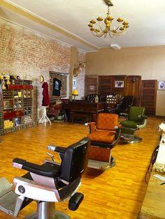 """El mes de Mayo nos trae el """"Quedamos en...la pelu"""". Esta es la aportación de @Fran Moya que nos lleva hasta una barbería auténtica de Columbus, EE.UU. #Decoracion #Interiorismo"""