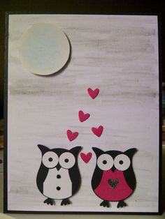 Love in the Moonlight by SeaChellesCards on Etsy, $7.00