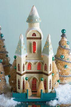 gorgeous glitter church