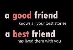 maybe i'am just a good friend