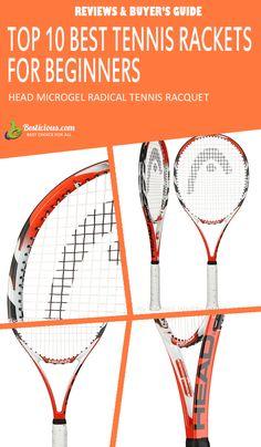 Best Tennis Rackets for Beginners Ultimate List (March) Best Tennis Racquet, Head Tennis, Muscle Power, Buyers Guide, World Of Sports, Rackets, Sporty, Female, Fitness