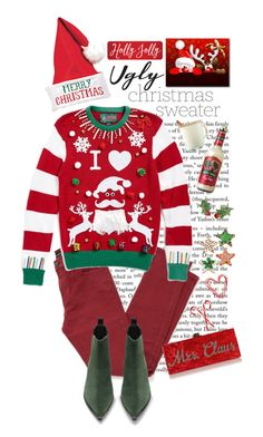 """""""Ugly Christmas Sweater"""" by shortyluv718 ❤ liked on Polyvore featuring Libertine, The Kooples, Ugly Christmas Sweater, Acne Studios, Draper James and uglychristmassweater"""