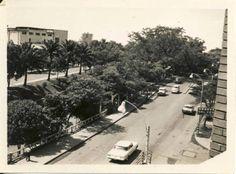 Avenida #Colombia con calle 7 en 1.967, actual Bulevar del Río en #Cali