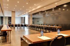 Eventos y congresos | Hotel Ciudad de Móstoles El salón Forum B es muy versátil y se adapta a cualquier evento.