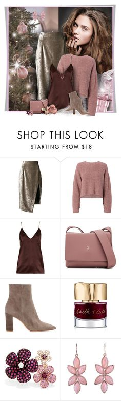 """""""Merry Christmas for all my dear friends"""" by perla57 ❤ liked on Polyvore featuring Off-White, rag & bone, Raey, Joseph & Stacey, Gianvito Rossi, Smith & Cult, Effy Jewelry and Irene Neuwirth"""