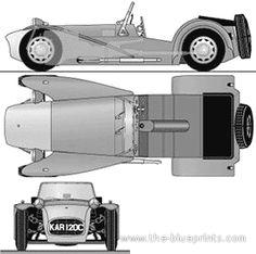 Lotus Super Seven Series II Cosworth (The Prisoner) (1965)