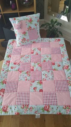 I like the look of this! Cath Kidston Lap Quilt Set Quilt with by TraceysTreasureChest