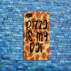 Pizza is my bae cute funny phone cover iphone case and Iphone 5c Cases, Cute Phone Cases, 5s Cases, Funny Phone, Iphone Case, Coque Iphone 5c, Wallpaper Flower, Cool Cases, Iphone Accessories