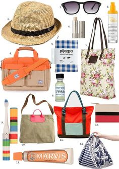 Vacay !! take it with you: travel essentials | Design*Sponge