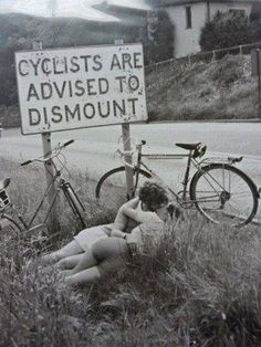 Cyclist are advised to dismount.